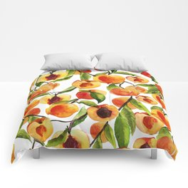 Passionate for peaches Comforters