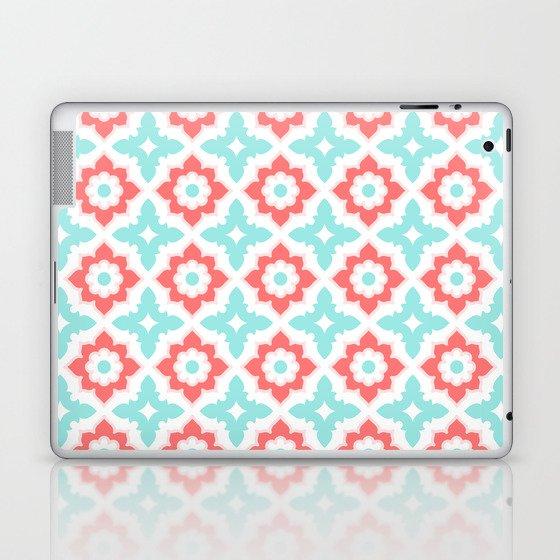 Moroccan Tile Laptop & iPad Skin