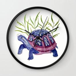 Raspberry Box Turtle Wall Clock