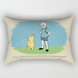 Ooo Corner Rectangular Pillow