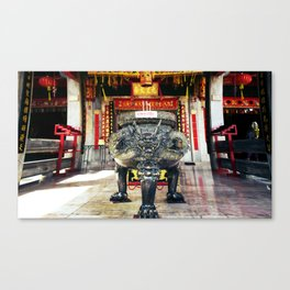 Chineese Temple Monument Canvas Print