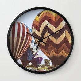 Hot Air Balloon Festival Wall Clock