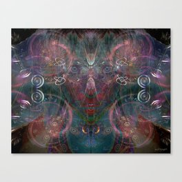 Infinite Correlation Canvas Print