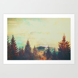 Telarose Valley Art Print