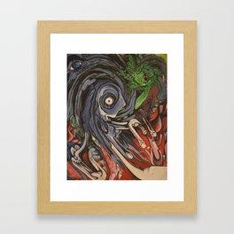 Spinner Framed Art Print