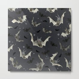 gone batty Metal Print