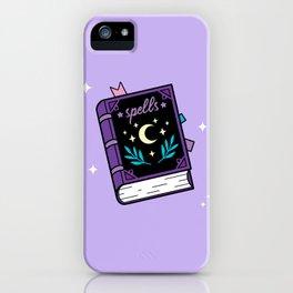 Magical Spellbook iPhone Case