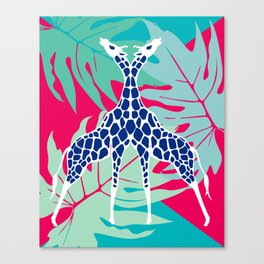 Jungle Love Canvas Print