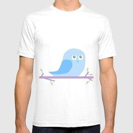 Bird on a branch go Hoot; T-shirt