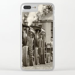 Traction Power Clear iPhone Case