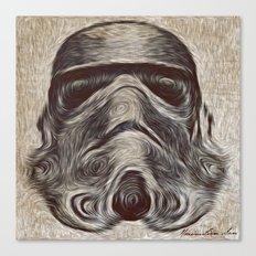 Vincent Stormtrooper Canvas Print