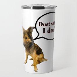 Forever Single - Funny Dog Memes Travel Mug
