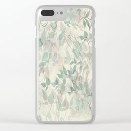 Abstract 204 Clear iPhone Case
