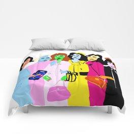 Fashion Week Comforters