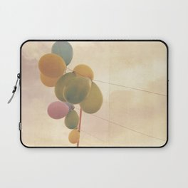 The Vintage Balloons Laptop Sleeve