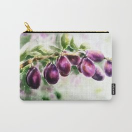 Harvesting plums Carry-All Pouch
