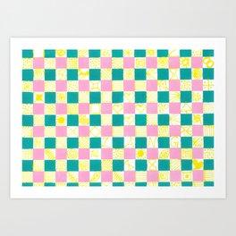 Check Mate by Australian Artist Vidy Potdar Art Print