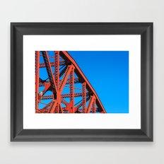 Broadway Bridge Framed Art Print