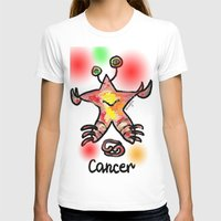 cancer T-shirts featuring cancer  by sladja