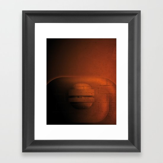 Smooth Heroes - The Thing Framed Art Print