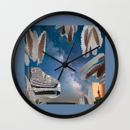 Dreaming Bench Wall Clock