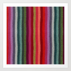 Get Knitted Art Print