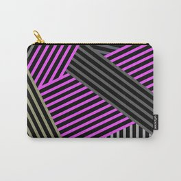 Abstract striped background 2 Carry-All Pouch