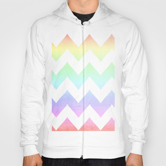Watercolor Chevrons Hoody
