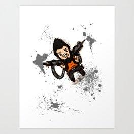 Borderlands 2 - Chibi Gunzy! Art Print