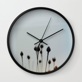 WINTER STILLNESS Wall Clock