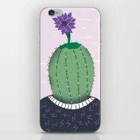 cactus iPhone & iPod Skins featuring Cactus by Rodrigo Fortes