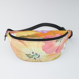 The fairy will come out soon 2 #flower #combination Fanny Pack