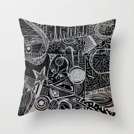 CI-Tens Throw Pillow
