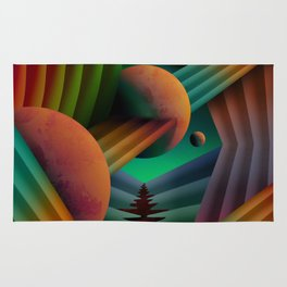 Planet Path Rug
