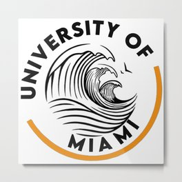 University of Miami Metal Print