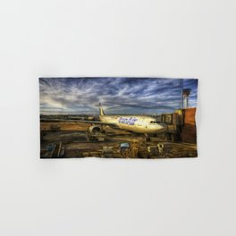 Iran Air Airbus A330 Art Hand & Bath Towel