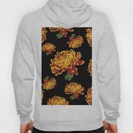 Floral Theme- Chrysanthemum Watercolor Painting Hoody