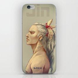 Jin profile iPhone Skin
