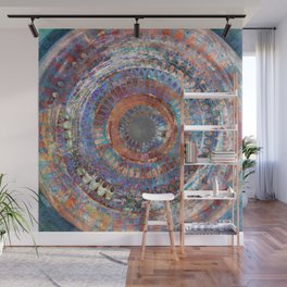 LA TURBINA MANDALA ART Wall Mural