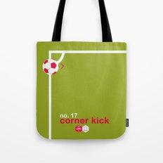 Corner Kick (No. 17) Tote Bag