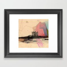 Castle's In The Air Framed Art Print