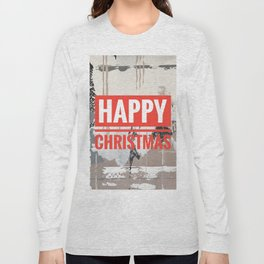 Snowfall - Happy Christmas Long Sleeve T-shirt