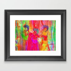 The three Graces  Framed Art Print