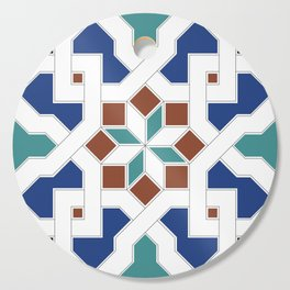 Geometric Pattern - Oriental Design Pt. 7 Cutting Board