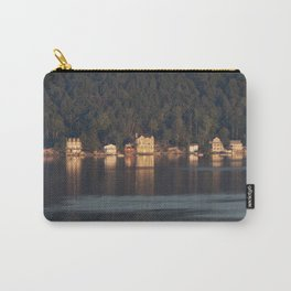 Houses on the Newfound Lake Carry-All Pouch