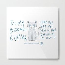 Alpha Feline Metal Print