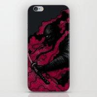 ninja iPhone & iPod Skins featuring Ninja by pigboom el crapo