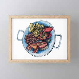 Farmer Breaky Framed Mini Art Print