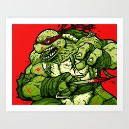 Raph's Last Stand Art Print