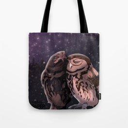 Owly kiss Tote Bag